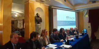 Il Comitato centrale FNOPI con il ministro Speranza