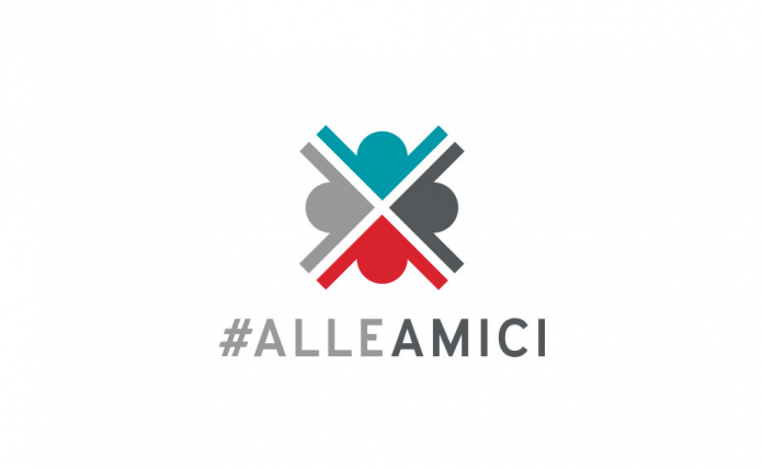 #ALLEAMICI